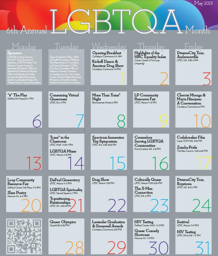 LGBTQA May 2013